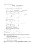 Đề thi học kỳ 2 Toán 6 (Kèm đáp án)