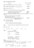 Đề kiểm tra  hình học và số học  học kỳ II môn toán học lớp 6  - Đề cơ bản