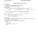 Bài Kiểm tra học kỳ 2 môn Tin học lớp 12 Trường THPT Như Thanh đề số 2