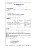 Bài kiểm tra học kỳ 1 môn Tin học lớp 12