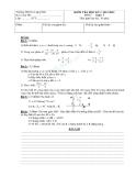 Tổng hợp đề kiểm tra học kì 1 môn Toán lớp 7 năm 2012-2013