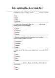 Trắc nghiệm tổng hợp trình độ C bài 1