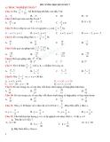 Đề cương học kì 1 môn toán lớp 7