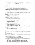 Đề cương ôn tập kiểm tra HK2 Vật Lý 6 (2012-2013)