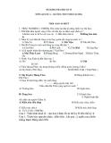 Bài kiểm tra học kì Nhà nước Chăm Pa, triều đại  Phong Kiến Trung Quốc sử lớp 6 thcs Nhuê Dương