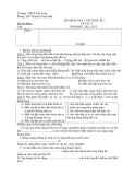 Đề kiểm tra 1 tiết học HK2 Lý 9 - Kèm Đ.án
