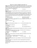 240 Câu trắc nghiệm môn Hóa 12 về Hóa hữu cơ