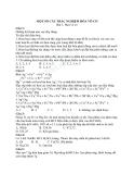 Một số câu trắc nghiệm môn hóa 12 về hóa vô cơ