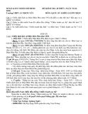 Tổng hợp đề kiểm tra môn Lịch sử lớp 12 - Trường THPT An nhơn Tây