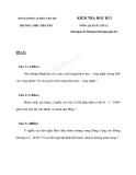 11 Đề thi HK1 môn Sử 12 - Kèm đáp án