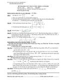 Đề thi khảo sát chất lượng Toán khối 12