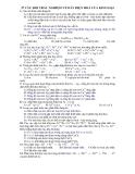 37 câu hỏi trắc nghiệm về dãy điện hoá của kim loại