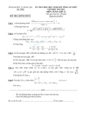 Đề thi chọn học sinh giỏi cấp tỉnh Toán 11 năm 2012-2013 - Sở GDĐT Hà Tĩnh