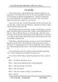 Đồ án thiết kế máy điện: Thiết kế động cơ KĐB 3 pha roto lồng sóc