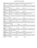 Bài tập hóa học lớp 12 về sắt, oxit sắt