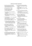 Đề thi TOEFL tháng 05/2001