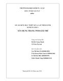 ĐỒ ÁN MÔN HỌC THIẾT KẾ & LẬP TRÌNH WEB KINH DOANH 1  XÂY DỰNG TRANG WEB GIẢI TRÍ