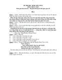 20 Đề thi học sinh giỏi Tiếng Việt 5