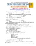 100 Đề trắc nghiệm dùng bồi dưỡng học sinh giỏi Tiếng Việt lớp 5