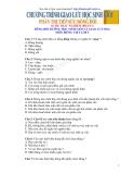 Trắc nghiệm dùng bồi dưỡng học sinh giỏi Tiếng Việt