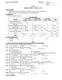 Đề kiểm tra 1 tiết Tin học8 (Lý thuyết và thực hành)