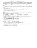 Bài tập  hóa học lớp 12 trường THPT Việt Yên 1- Bắc giang