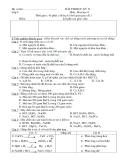 6 Đề kiểm tra HK2 môn Hóa lớp 8
