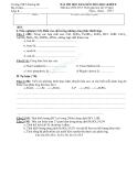 7 Đề kiểm tra HK2 môn Hóa lớp 8 - Kèm đáp án