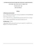 Đề thi lịch sử tốt nghiệp12 năm 2009 - 2010 đề tham khảo