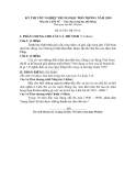 Đề luyện thi lịch sử tốt nghiệp12 năm 2010 đề số 14