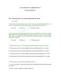 44 CÂU HỎI TRẮC NGHIỆM GIÁO DỤC CÔNG DÂN LỚP 10 TỪ BÀI 1 ĐẾN BÀI 7