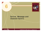 Chapter 6 Source, Message and Channel Factors