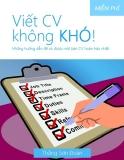 Viết CV không khó