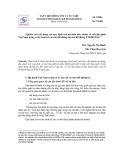 Nghiên cứu xây dựng các quy định của dự thảo tiêu chuẩn về viết địa danh Việt Nam trong xử lý, lưu trữ và trao đổi thông tin của Hệ thống Thông tin Khoa học Công nghệ Quốc gia