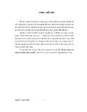 Luận văn: Độ phì, quản lý và nâng cao độ phì nhiêu của đất