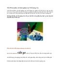 Viết PR sản phẩm với kinh nghiệm của Viết Quảng Cáo