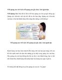 Viết quảng cáo với Cách viết quảng cáo gây chú ý cho người đọc