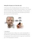 Hướng dẫn viết quảng cáo web theo luật xa gần