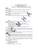 29 Đề thi HK1 môn Địa lớp 9 - Kèm đáp án