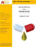 Báo cáo Phân tích ngành dược