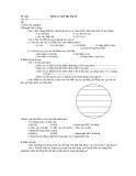 Đề kiểm tra 1 tiết Địa lý 10  Đề chẵn và đề lẻ
