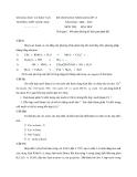 Đề thi học sinh giỏi môn Hóa học 12 kèm đáp án