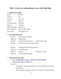 Mẫu CV xin việc hay cho ngành Xuất nhập khẩu