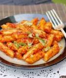 Hướng dẫn làm Tteokbokki – Món ăn hàn quốc