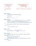 Đề thi tuyển sinh vào lớp 10 THPT năm học 2009 - 2010 môn toán - Trường THPT thực hành Cao Nguyên
