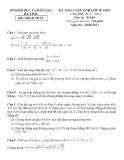 Kỳ thi tuyển sinh vào lớp 10 môn toán THPT năm học 2013 - 2014 - Sở giáo dục đào tạo Hà Tĩnh