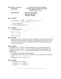 Đề thi tuyển sinh vào lớp 10 môn Toán năm 2013-2014 - Sở GD&ĐT Bình Định