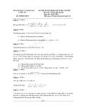 Đề thi tuyển sinh vào lớp 10 hệ chuyên năm 2012 môn toán - Sở giáo dục đào tạo Long An - Đề số 02