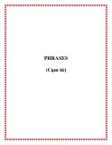 PHRASES (Cụm từ)
