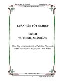 Luận vawnL: Tăng cường huy động vốn tại Ngân hàng Nông nghiệp và Phát triển nông thôn Huyện Lộc Hà – Tĩnh Hà Tĩnh